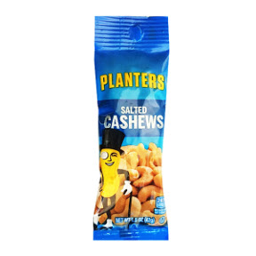 Planters Salted Cashews F30-3109808-4200