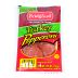 Bridgford Sliced Turkey Pepperoni 2.5 oz. F30-3639106-8300-2.5 oz package of Sliced Turkey Pepperoni. 70% Less Fat than Regular Pepperoni!! Made in the USA.