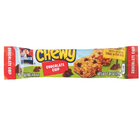 Quaker® Chewy Chocolate Chip Granola Bar F30-4009303-8100