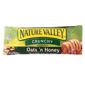 nature valley oats n honey granola bar travel size
