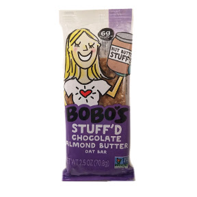 Bobo's Stuff'd Chocolate Almond Butter Oat Bar F30-4087010-7000