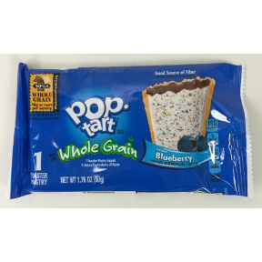 Kelloggs® Pop Tarts Whole Grain Frosted Blueberry, F30-4109133-8100
