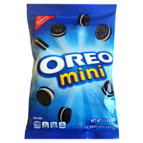 Nabisco® Mini Oreo Cookies F32-3909607-8200