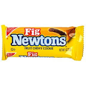 Nabisco Fig Newtons Cookie - Special Price F32-3909611-8300CL - 1 oz fruity chewy cookie in individual serving package.  A convenient travel size for on the go.