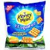 Nabisco® Honey Maid Lil' Squares Honey Grahams F32-3909612-8300-1.06 oz. package of honey grahams.