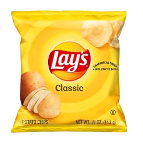 Größe Lays Chips