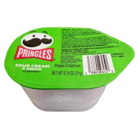 Pringles Sour Cream Amp Onion Potato Crisps Travel Size