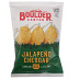 Boulder Canyon Potato Chips - Jalapeno Cheddar F40-4366404-8400-1.5 oz. bag kettle cooked potato chips. Jalapeno Cheddar flavor.