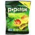 Popchips® Sea Salt Veggie F40-4368504-8300-0.8 oz. bag of popped chip snack.