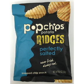 Popchips Perfectly Salted Ridges, F40-4368506-8300