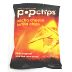 Popchips® Nacho Cheese Tortilla Chips F40-4368510-8400-1 oz. bag of popped nacho cheese tortilla chips.