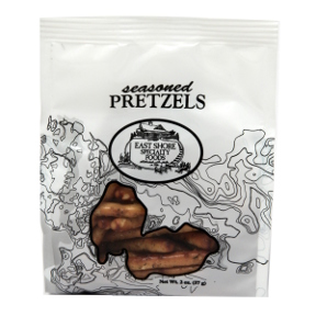 East Shore Seasoned Pretzels F40-4568702-8200