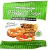 Snack Factory® Pretzel Crisps® Garlic Parmesan F40-4587802-8100 - 1.5 oz. bag of deli style, baked pretzels.