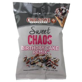 Awesome 2 5 Oz Sweet Chaos Birthday Cake Remix Coldstone Creamery Funny Birthday Cards Online Alyptdamsfinfo