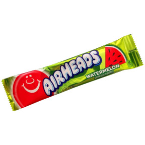 Airheads Candy - Watermelon F51-4377003-9100 - .55 oz. tasty candy in a sealed wrapper
