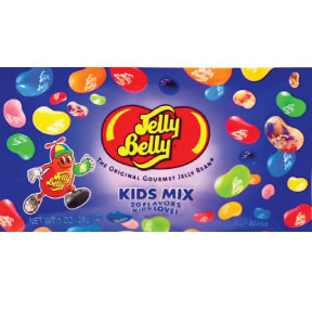 Jelly Belly® Kids Mix 1 oz. F51-4546002-1200 - 1 oz. packet of assorted jelly beans.