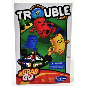 Pop-O-Matic® Trouble® Game-Grab&Go G01-0260104-2100