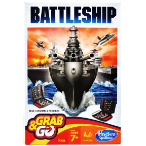 Battleship® Grab&Go G01-0260106-2101-a single travel sized game.