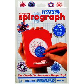 The Original Spirograph® Travel G01-0260200-2100-the classic Go Anywhere design toy!