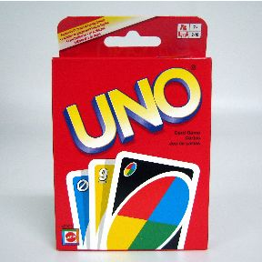 Uno® Card Game G01-0360601-2100