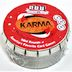 SET® KARMA Mini Round G01-0360804-9000-card game in a round mini tin.