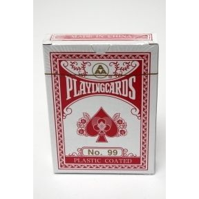 AAA Playing Cards G01-0568502-8200 - 1 pack of plastic coated playing cards.