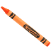 Crayola® Single Crayon - Orange G05-0551401-8110-One crayon.