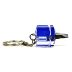 Stubby Screwdriver Keychain - Slotted H03-0159901-8100-A single stubby, slotted screwdriver on a keychain.