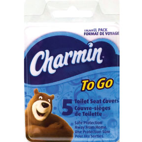 Charmin To Go Toilet Seat Covers - Travel Size & Miniature ...