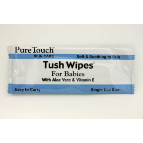 Tush Wipes® Flushable Moist Wipes For Babies J01-0247002-1200