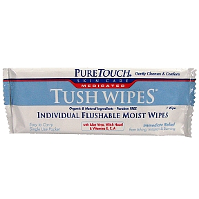 PureTouch® Tush Wipes® Medicated J01-0247805-1200