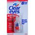 Clear eyes Handy Pocket Pal J01-0416201-8000 - 0.2 fl oz travel size redness relief lubricant eye drops in plastic bottle. Removes redness. Moisturizes. Soothes and protects. Fast acting.