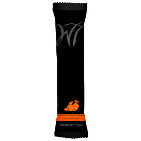 Moist Cotton Towel - Peach-Mango 10 x 10 J01-0761704-9102