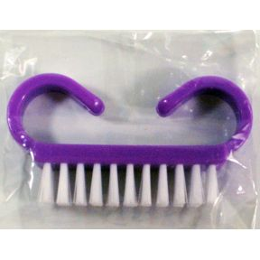Generic Nail Brush J01-0959905-9100 - Travel sized nail brush.