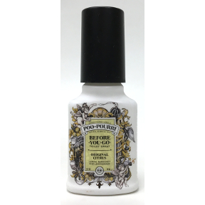 Poo-Pourri® Original 2 fl. oz. J03-0162601-8200-2 fl. oz. pump bottle. Before-You-Go® Toilet Spray that makes the odor go away!