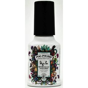 Poo-Pourri® Deja-Poo® 2 fl. oz. J03-0162611-8200-2 fl. oz. pump bottle. Before-You-Go® Toilet Spray. You've been here before but now with a scent you adore.