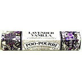 Poo-Pourri® Lavender Vanilla 4 mL J03-0162618-8000-4 mL. pump bottle. Before-You-Go® Toilet Spray. Convenient size for inconvenient times!