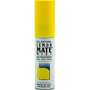 Citrus Mate All Natural Mist Air Freshener - Lemon J03-0183603-9100-0.5 fl. Oz. all natural Lemon air freshener.