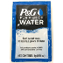 P&G Purifier of Water J04-0148201-1000 - 0.14 oz travel size water purifier in individually sealed packet. Each packet treats 2.5 gallons of water. Manufactured by Procter & Gamble.