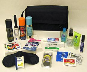 City Weekender Kit K01-0180603-5100 - Kit comes in an expandable travel toiletry bag with detachable compartments and handle, filled with 20 products (Total of 23 items).