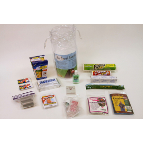 Car Travel Essentials Kit K01-0489905-9000 - When traveling by car you will want these great supplies for your trip.