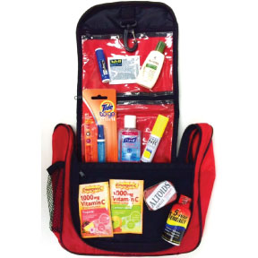 The Jet Set- FA Inflight Survival Kit K01-0489960-9000 - Enjoy your flight while remaining fresh and refreshed.