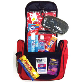 The Jet Set- FA Layover Kit K01-0489961-9000 - Relax and enjoy your flight layover in comfort.