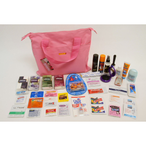 Minimus.biz The Pink Bag Wedding Day Survival Gear