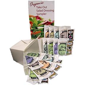 Organic Take Out Salad Dressing Sampler Travel Size