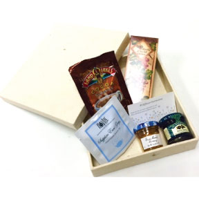 Breakfast in Bed Gift Set K01-2059920-3100 - 5 gourmet edibles in an eco-friendly flower seeded paper box. Plant the box and flowers grow!