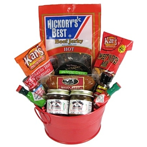 Packin' Heat Snacks and Sauces Gift Set K01-2059922-3200