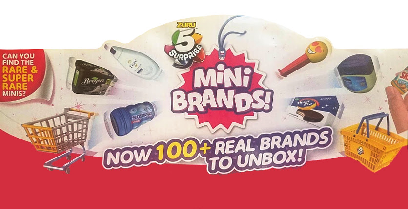 New Product Feature - Mini Brands