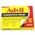 Advil® Congestion Relief - 10 count P01-0110404-8200-10 count package of Advil® Congestion Relief. Relief of symptoms due to COLD or FLU.