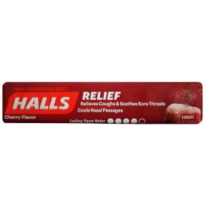 Halls Cherry Cough Drops Travel Size Amp Miniature